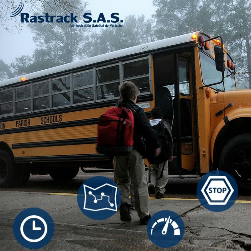 APP localizacion bus escolares Rastrack