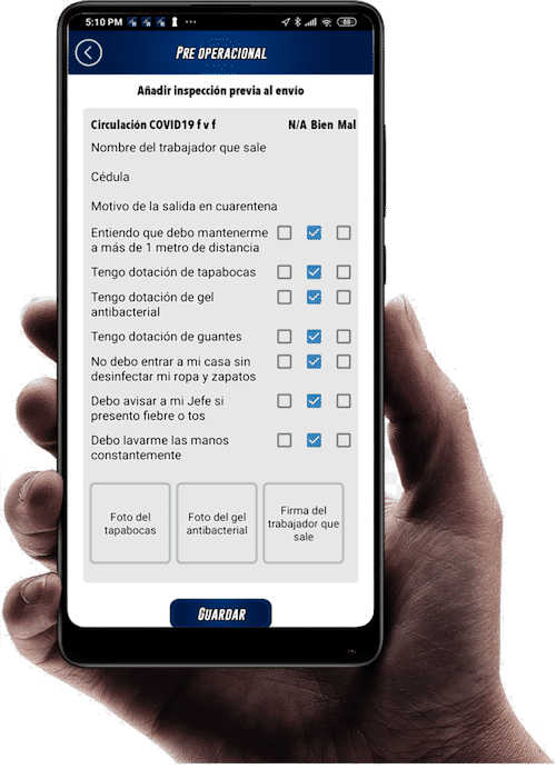App protocolo COVID Rastrack